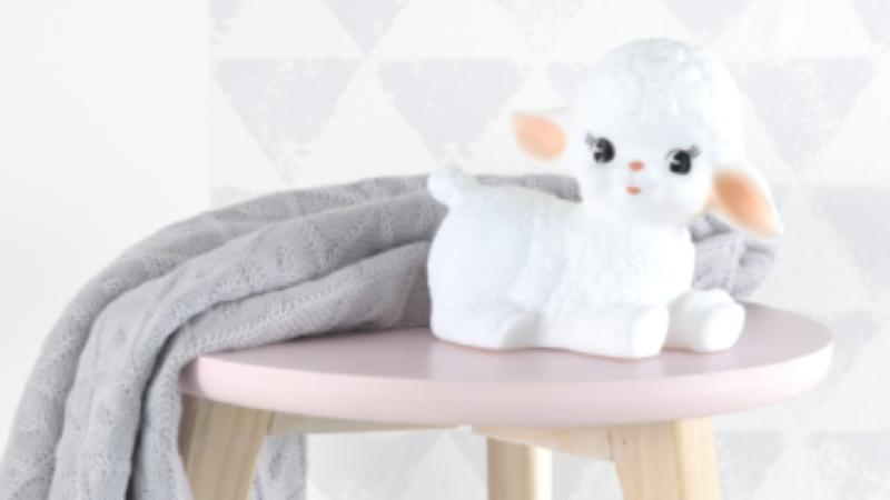 Wooly lamb nachtlampje